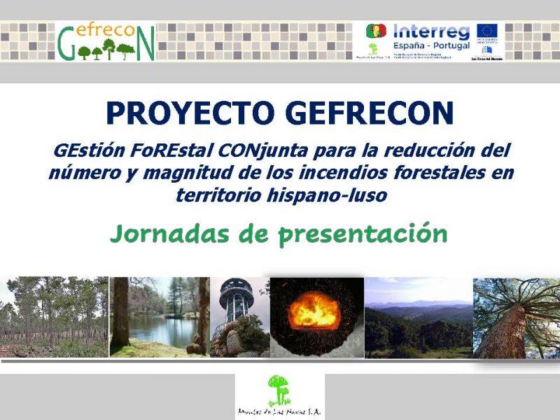 PRESENTACIÓN PROYECTO GEFRECON
